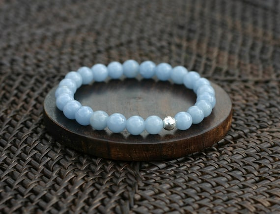 Angelite Bracelet for Weight Loss