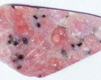 Rare Pink Druze Cabochon (1062)
