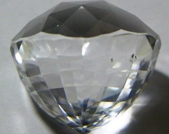Faceted White Topaz for Wire Wrapping (706-Z)