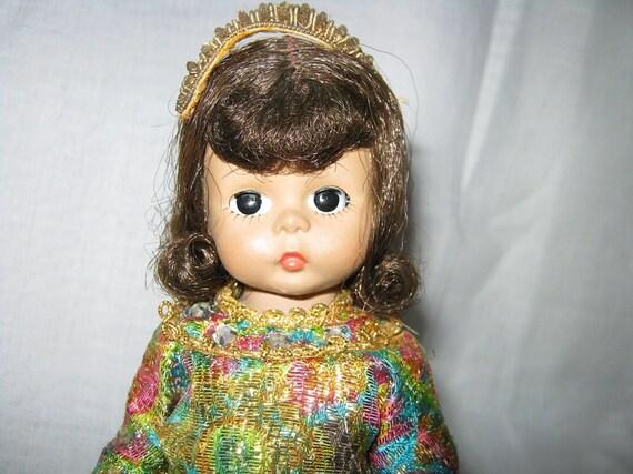 Madame Alexander Doll Bent Knee 8 inch c.1970s By Gatormom13