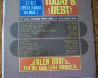 Glen Gray, The Sounds Of The Great Bands Volume 7, Today's Best, Vinyl Lp Album, Nanas Vintage Shop on Etsy