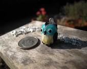 Black Owl Necklace