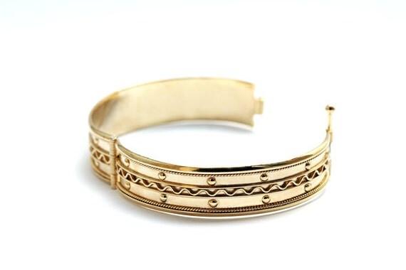gold plated silver custom bracelet,  coordinate bracelet, African jewelry braid bracelet, godmother bracelet Ethnic Jewelry