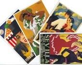 10 SEVILLA postcards. SEVILLANA postcards from Spain