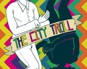 The City Troll // Fictional Graphic Novel