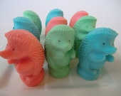 45 hedgehog / groundhog party favor soap