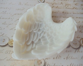 100 Angel Wing Soap - wedding favors, baby shower favor