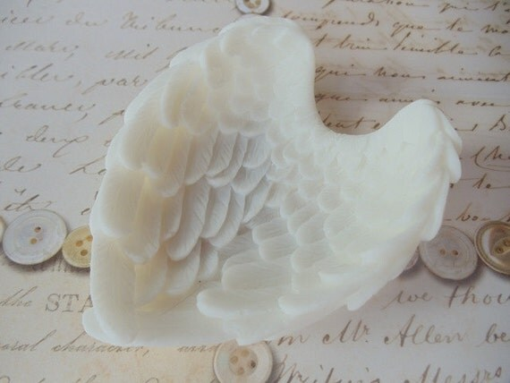 10 Angel Wing Soap Favors Wedding Favors Angel Wings Baby