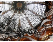 Galeries Lafayette Paris France 8 x 10 Photograph