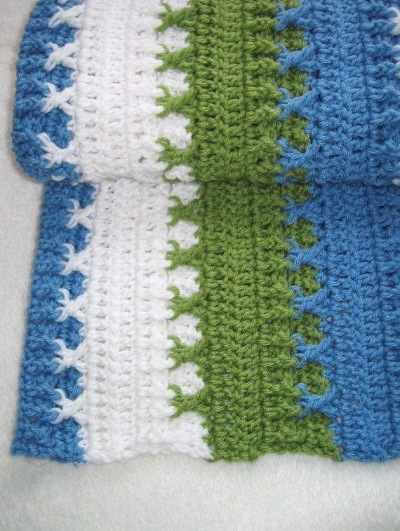 Bestseller -  PDF Crochet Pattern - Logan Baby Blanket (permission to sell finished item) - Instant Download