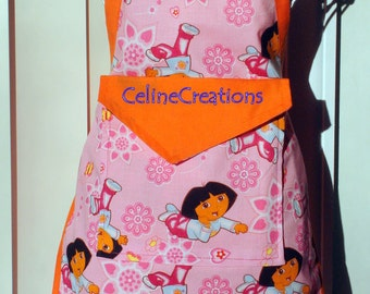 Kids Apron Dora The Explorer Gift For Her