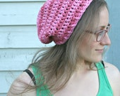 Lazy Summer Striped Slouch Hat - Organic Cotton