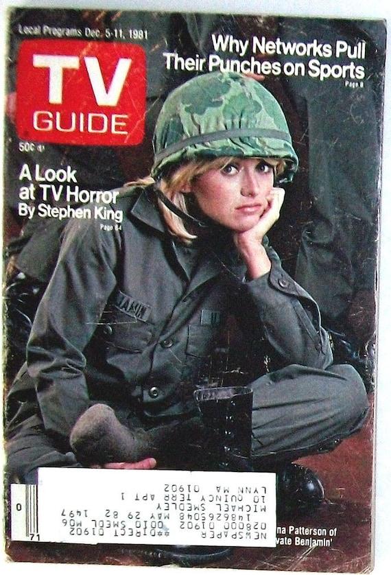 TV Guide PRIVATE BENJAMIN Lorna Patterson by AllThatShowcase