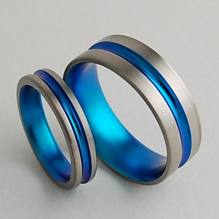 wedding bands titanium rings promise rings titanium
