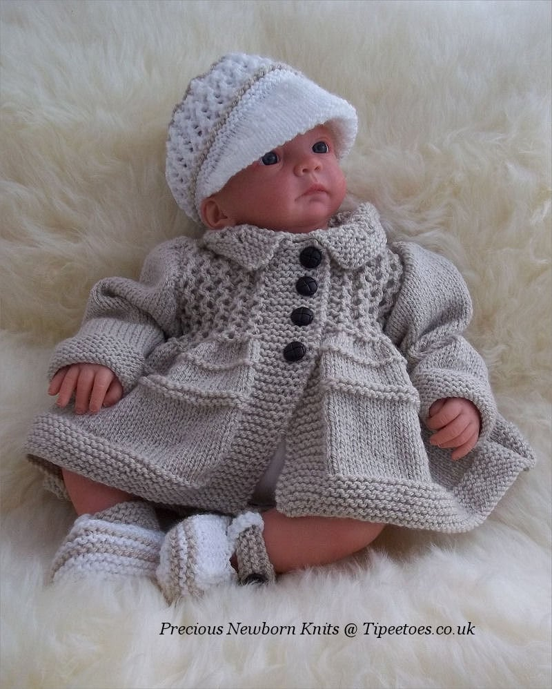 Knitting Patterns For Babies To Download : Baby Knitting Pattern Download PDF Knitting Pattern Baby