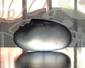 Original Glass Sculpture - Glass Art Figurine - SERENE ICE - Miniature Sculpture - Transparent
