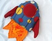 Rocket Ship Plush Toy
