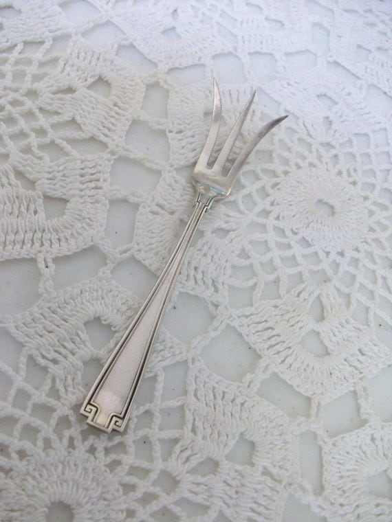Sterling Silver 3 Prong Berry Fork 925 //