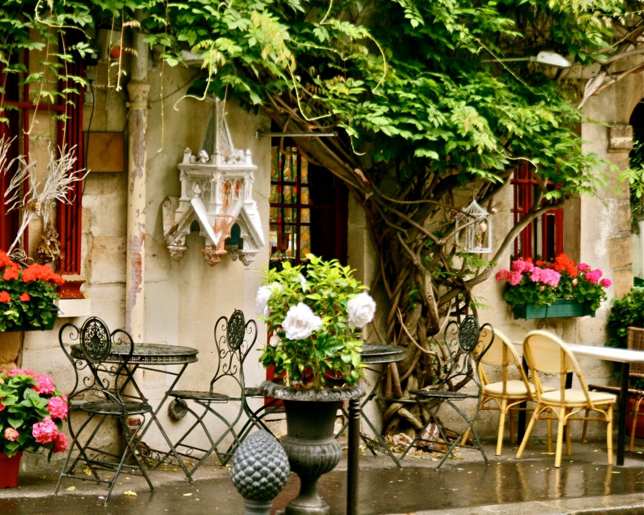 Paris photography french cafe art parisian fine by vitanostra for Art decoration france