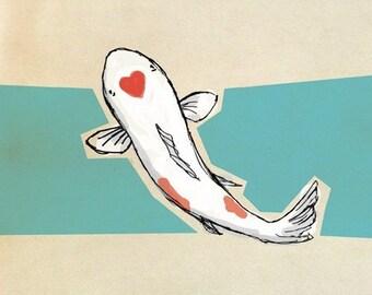 LoveKoi - Fine Art Print