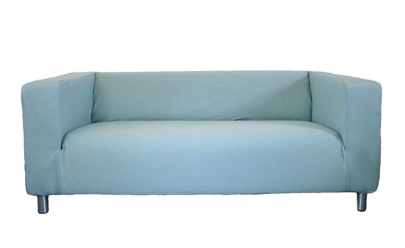Ikea klippan loveseat slipcover from knesting in by freshknesting Klippan loveseat covers