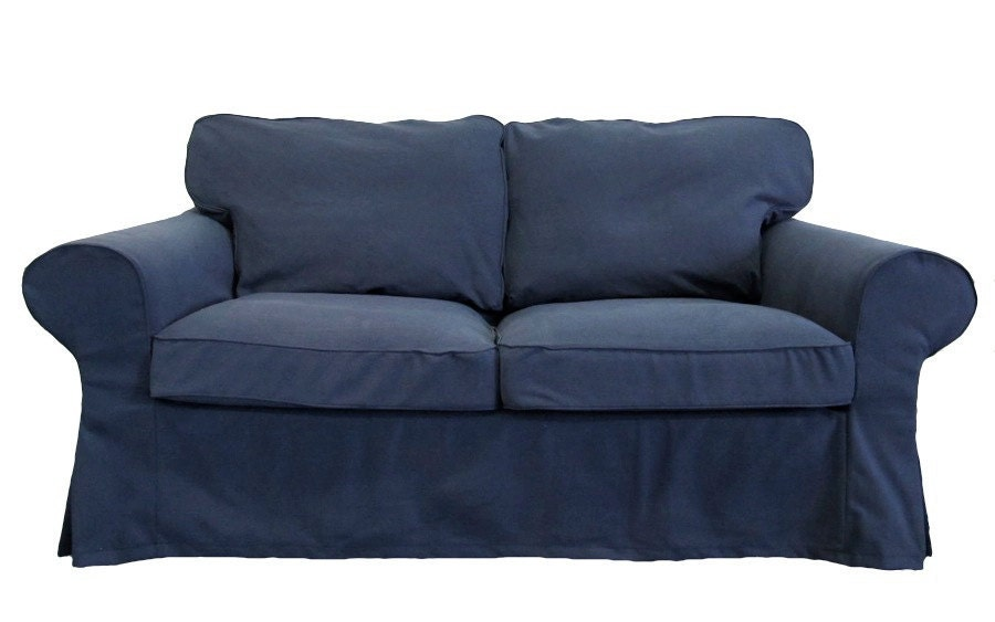 Unavailable listing on etsy Denim loveseat