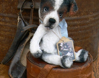 """Sewing Pattern For 6.5 inch Jack Russel """"Jacky"""" PDF file"""