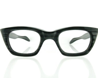 Vintage Deadstock 50's Graceline Blackwood Eyeglass Frames - FREE Domestic Shipping