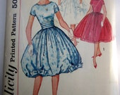 Simplicity 2771 Girls 50s Party Dress and Cummerbund Sewing Pattern Size 14 Breast Bust 33