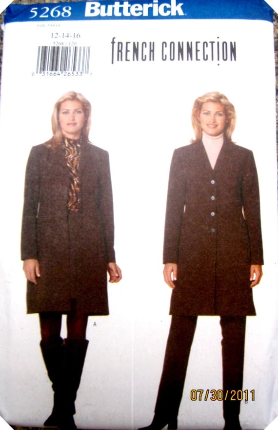 Butterick 5268 Women's 90s Jacket Skirt & Pants Sewing Pattern Bust 34 to 38