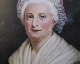 Martha Washington Calendar Art Print