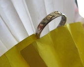 Handmade Sterling And Gold Ring