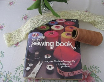 Vintage Fashion Sewing, The Complete Family Sewing Book by Playmore Publishing Dated 1980