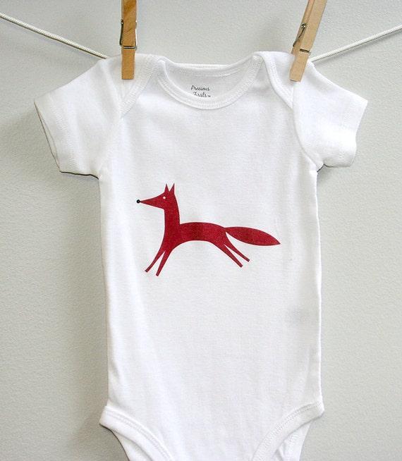 Fox baby clothes fox baby fox baby bodysuit by
