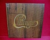 CHICAGO - Chicago - 1972 Vintage Vinyl GATEfold Record Album...includes Color Fold Out & Large Black/White Poster.