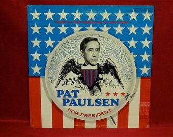 PAT PAULSEN For PRESIDENT - 1968 Vintage Vinyl Record Album