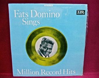 FATS DOMINO - Million Record Hits - 1964 Vintage Vinyl Record Album