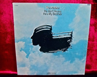 The HOLLIES - He Ain't Heavy He's My Brother - 1970 Vintage Vinyl Record Album