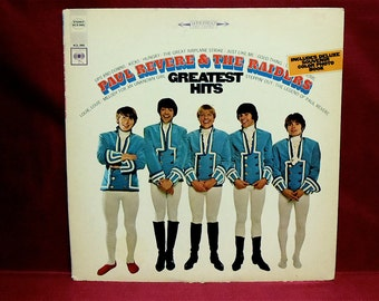 PAUL REVERE and the RAIDERS - Greatest Hits - 1968 Vintage Vinyl Record Album