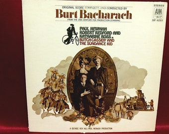 BUTCH Cassidy and the SUNDANCE KID - Original Score - 1960s Vintage Vinyl Record Album