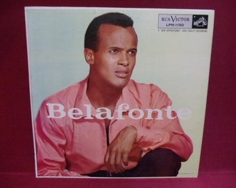 HARRY BELAFONTE - Belafonte - 1955 Vintage Vinyl Record Album