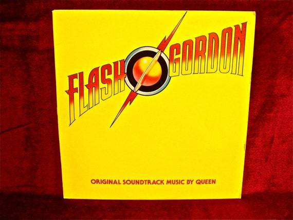 FLASH GORDON - Soundtrack Music by QUEEN - 1980 Vintage Vinyl Record Album...W/Insert Photo