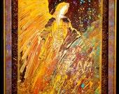 Manifesting Healing Angel - Original Crystal Art by Alma Yamazaki - On SALE