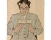 Rosa Parks Mugshot Print