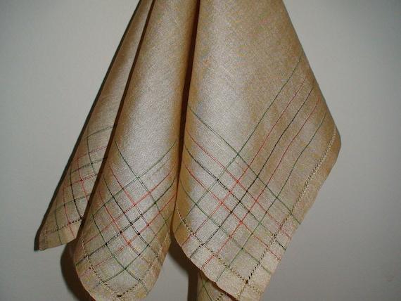 Exquisite Silk Scarf, New Stock, Art Deco Influence, Drawnwork Hem