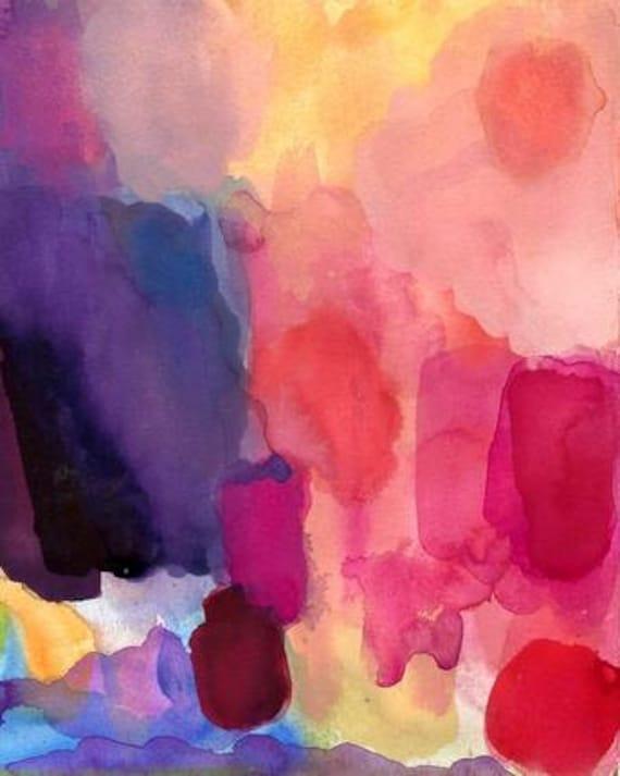 Art Print, Watecolor, Daybreak