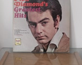 Neil Diamond Bang Records 1960's Greatest Hits Stereo LP Vintage Vinyl Album Cherry Cherry Thank The Lord & more Early Album Release
