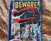 Beware The Monsters Are Coming Marvel Comics 1974 no 6 Horror Fear Stan Lee Art by Tuska DiPreta Ayers Sci Fi