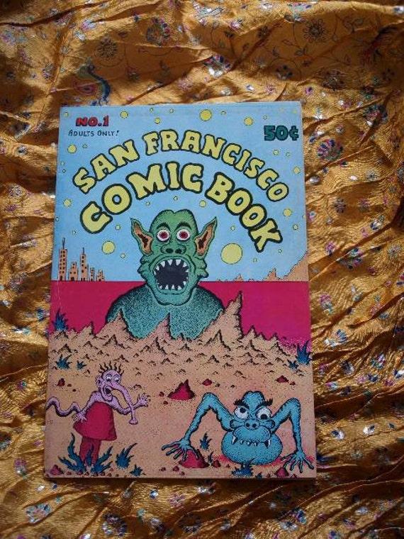 San Francisco Comic Book No 1 Comix 1970 Underground Alternative Crumb Spain Griffen S. Clay Wilson