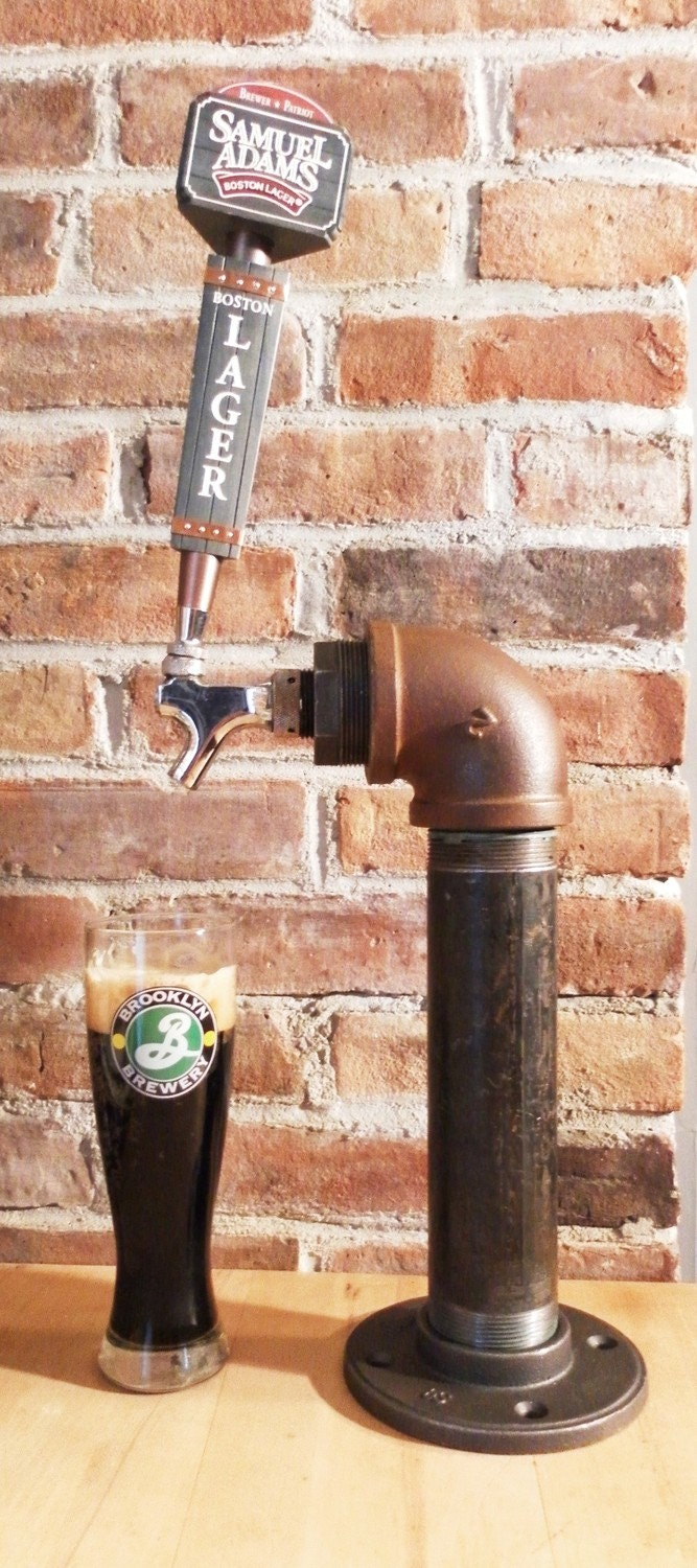 Unique industrial beer tap single tower made with vintage - Unique faucet designs for your home ...